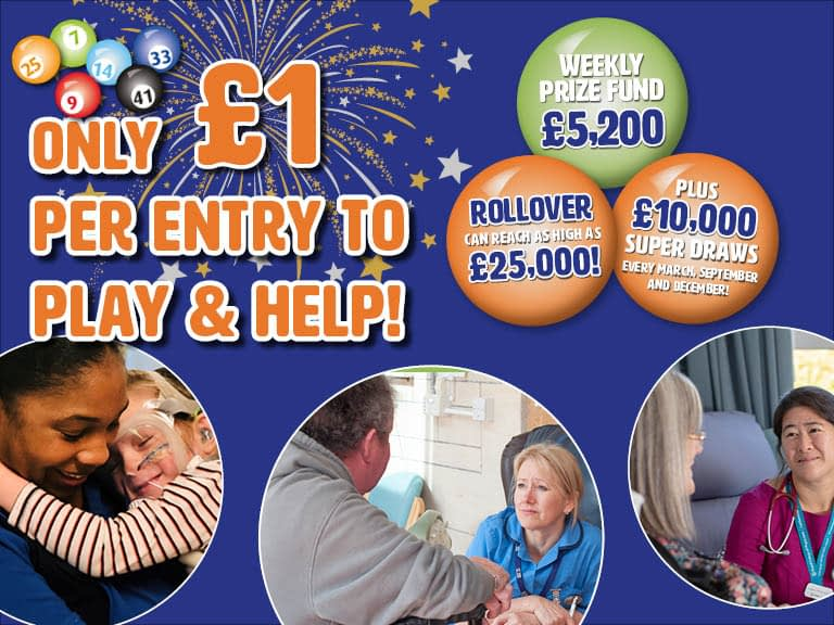 Only £1 per Game number to play and help